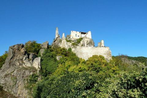 Burgruine Aggstein am Welterbesteig Wachau