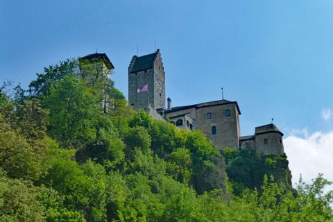 Impressive castles at the panorama path Altmühltal