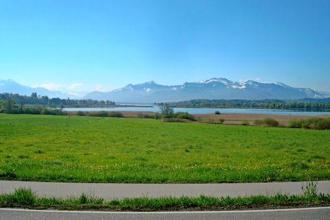 Blick auf das Nordufer des Chiemsees