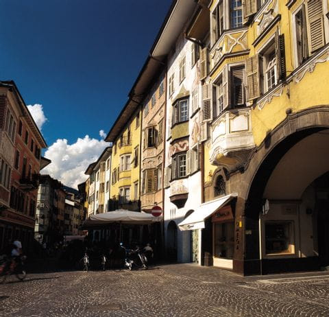 Die wunderschöne Altstadt von Bozen