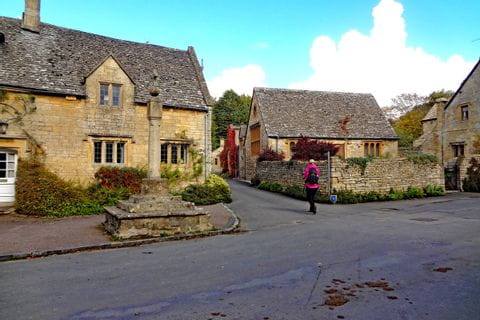 Wanderer in Cotswolds