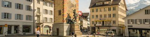 Altdorf Telldenkmal