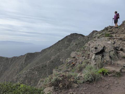 Wandern mit Aussicht auf Teneriffa