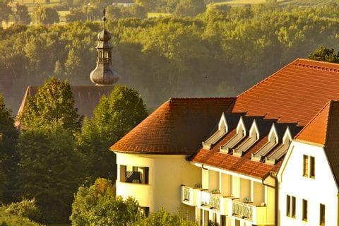 Ausblick Hotel Steigenberger in Krems