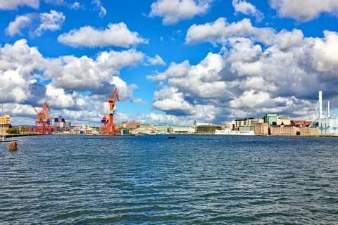 Harbour in Gothenburg