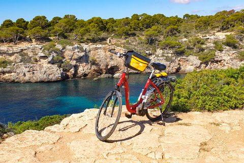 Eurobike-Leihrad in Cala Pi