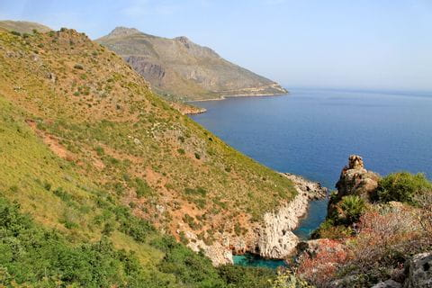 Naturreservat Zingaro am Meer