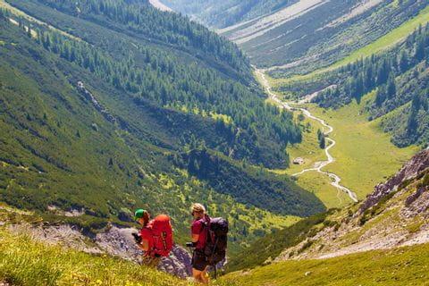 Trekking Wanderungen mit toller Bergkulisse