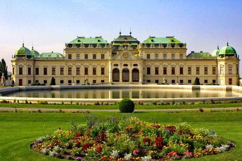Das obere Belvedere in Wien