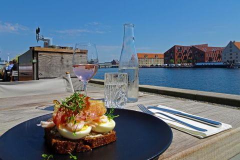 Jause in Kopenhagen