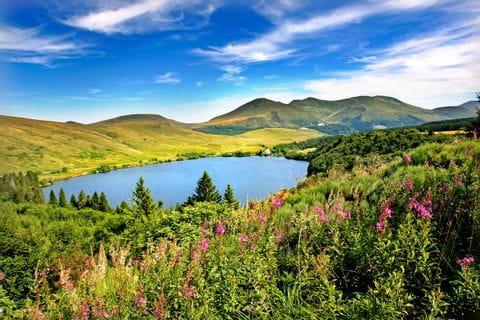 Beeindruckende Panoramabilder in der Wanderregion Auvergne