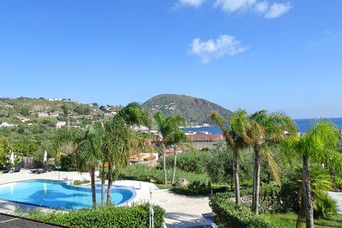 Panoramablick auf das herrliche Lipari