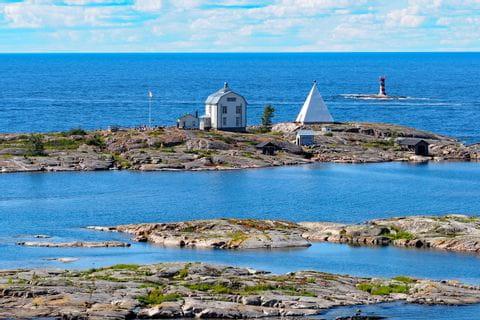 Messstation an der finnischen See