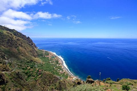 Fascinerande panorama på Madeira