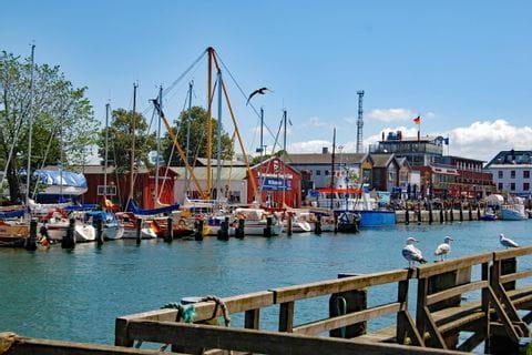 Port in Warnemünde