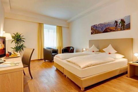 Zimmerbeispiel vom Hotel Krone in Brixen