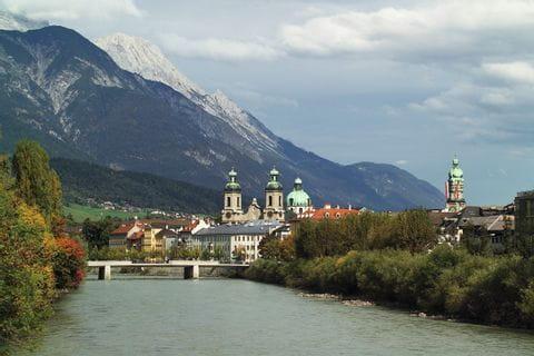 Blick auf Innsbruck und Inn