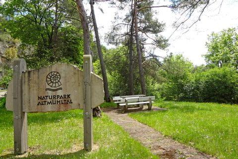 Wanderrast im Naturpark Altmühltal