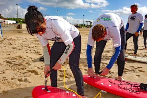 Einschulung Surfkurs in Portugal