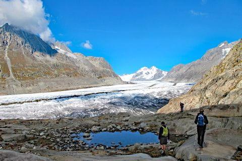 Wanderung zum Aletschgletscher