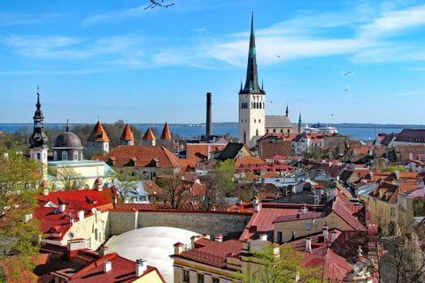 Blick über Tallinn, Estland