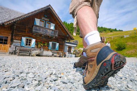 Wanderrast am Alpe Adria Trail
