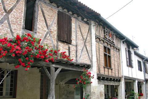 Schöne alte Hausfassade