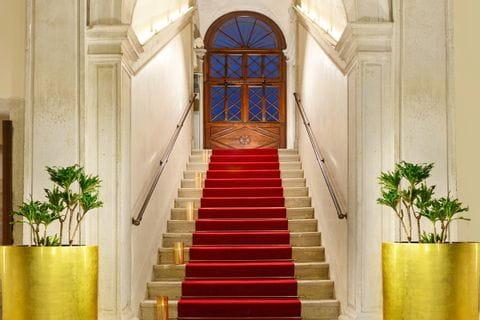 Eingangsbereich des Hotel Palazzo Giovanelli