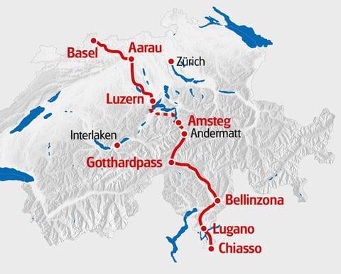 Nord Süd Route