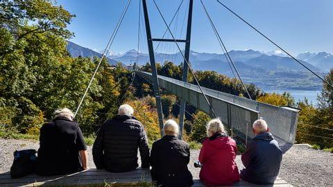 Thunersee-Panoramaweg: Panramabrücke Leissigen