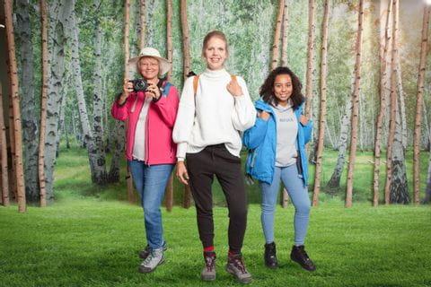 Prisca, Ariane, Celina