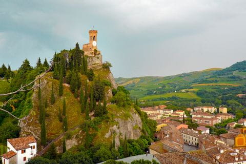 Burg in Brisighella
