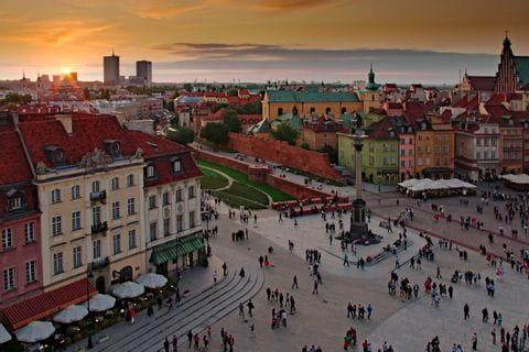 Panoramablick Warschau