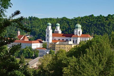 Blick auf den St. Stephan Dom in Passau