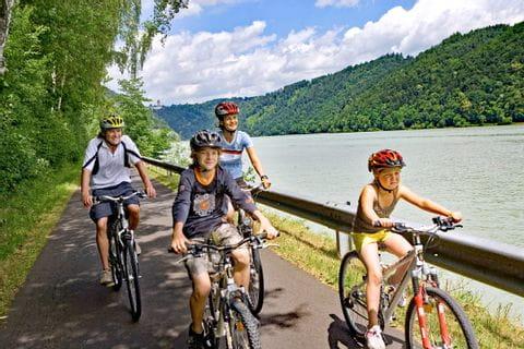 Familienradtour am Donauradweg