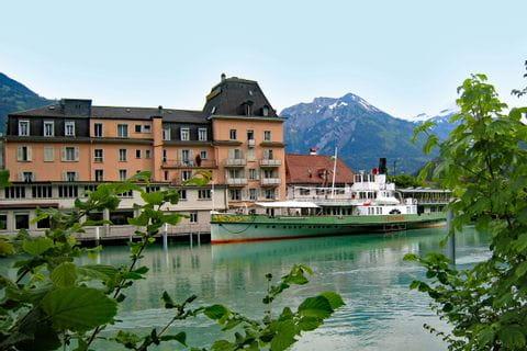 View to Interlaken