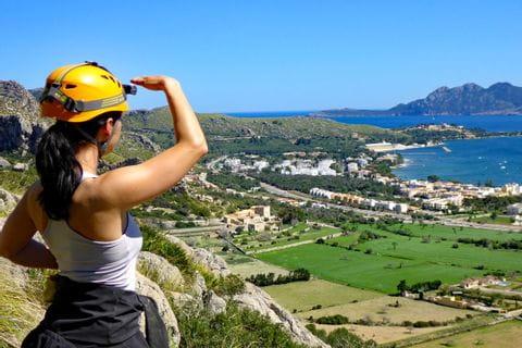 Ausblick auf die Landschaft in Mallorca