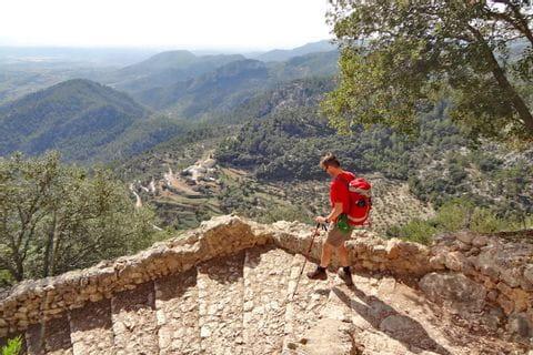 Wandern ohne Gepäck auf Mallorca