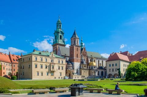 Burg in Krakau