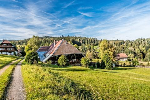 Charmantes Dorf im Schwarzwald