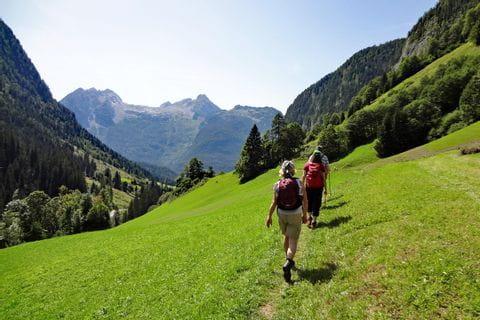 Wanderer in den Chiemgauer Alpen