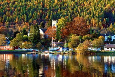 Herbstliche Impressionen am Seeufer