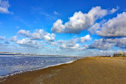 Strandblick in Holland