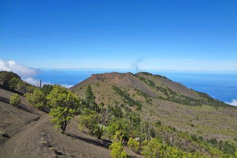 Vulkanwandern auf El Hierro in Richtung Malpaso
