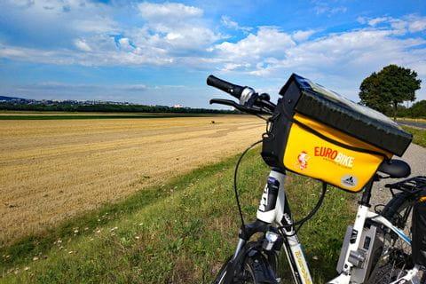 Eurobike-bike in front of field