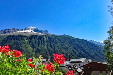 Beautiful hiking region