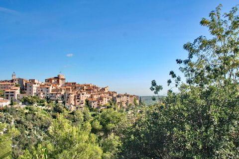 Ursprüngliche Dörfer auf der Wanderung von Grasse nach Menton