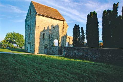 Abbey ruin in Rueegisberg