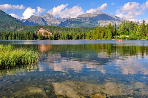 Bezaubernde Berglandschaft in der Slowakei