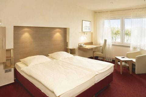 Doppelzimmer im Diehls Hotel